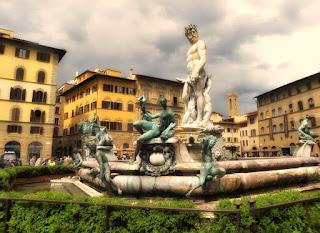 Plaza de la sinoira, en viajar a Florencia en dos dias