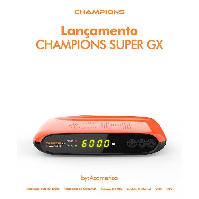 AZAMERICA CHAMPIONS SUPER GX PRIMEIRA ATUALIZAÇÃO V1.08 - 26/07/2021
