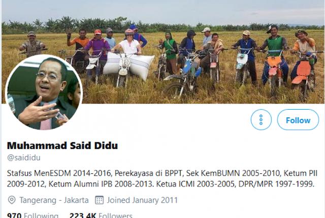 Akun Twitter Said Didu Dibajak, Muat Fitnah terhadap UAS