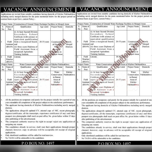 Latest Jobs In Public Sector Management Organization 2021 ||
