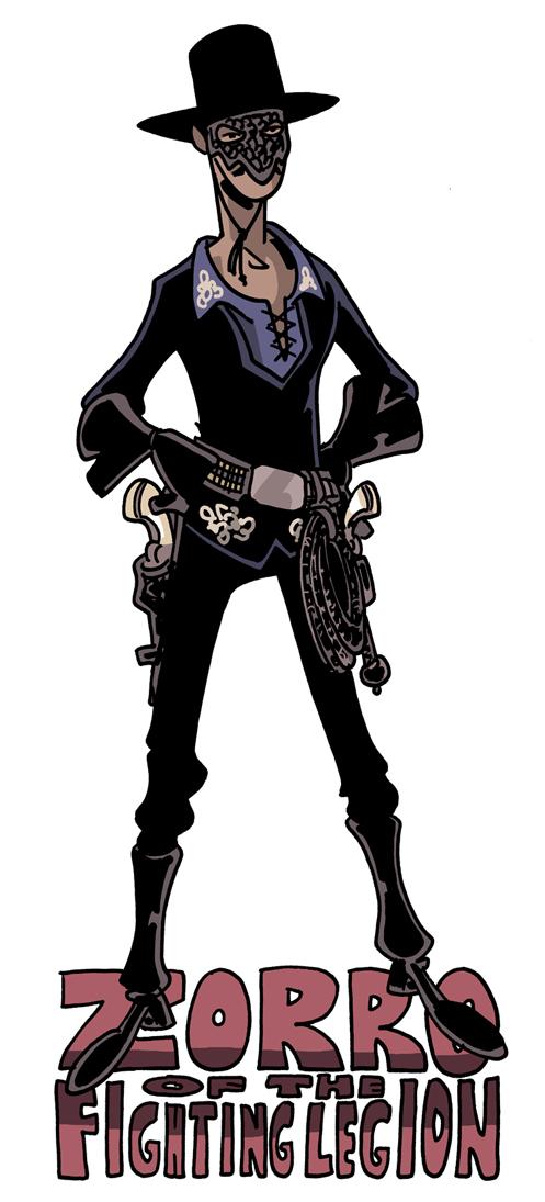 Chris Schweizers The Crogan Adventures Character A Day 1930s Zorro