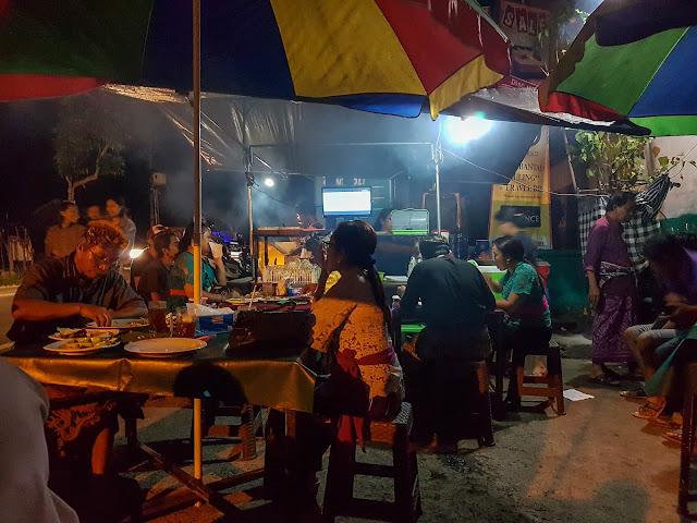 Ubud Bali Things to do street food