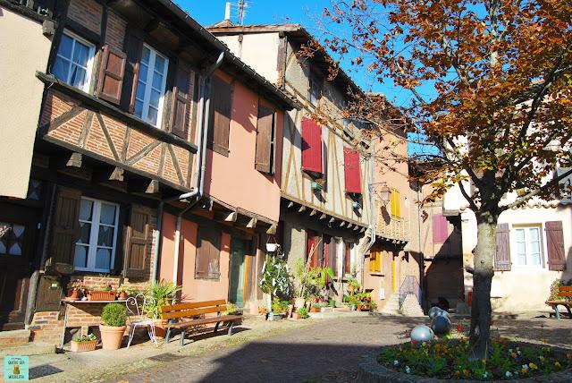 Place Savene en Albi, Francia
