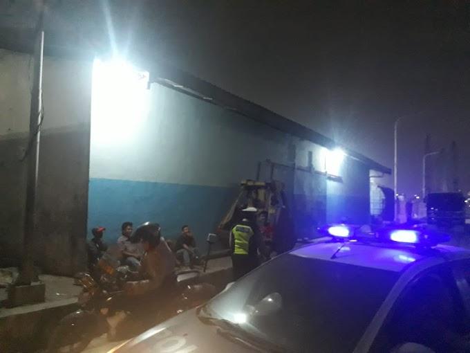 Polsek Kawasan Sunda Kelapa Adakan Patroli Malam