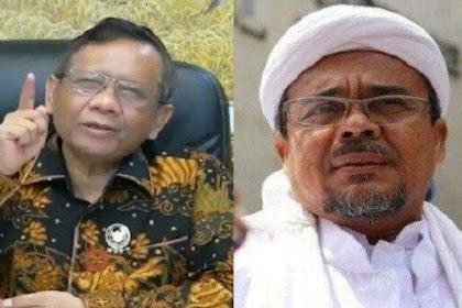 RESMI, Pemerintah Hentikan FPI, Mahfud MD Sebut Alasan Kekerasan