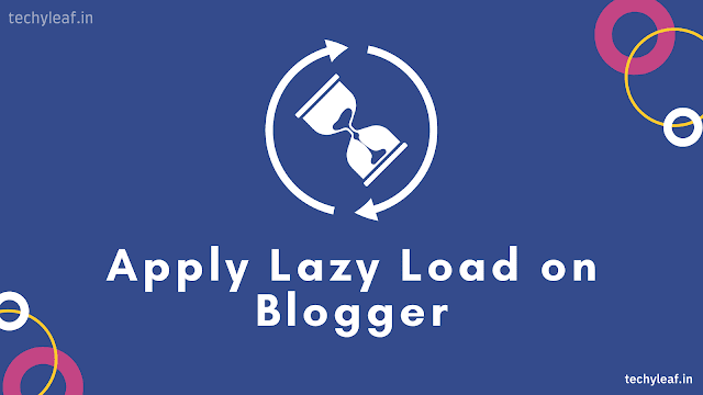 How to enable Lazy-loading on Blogger
