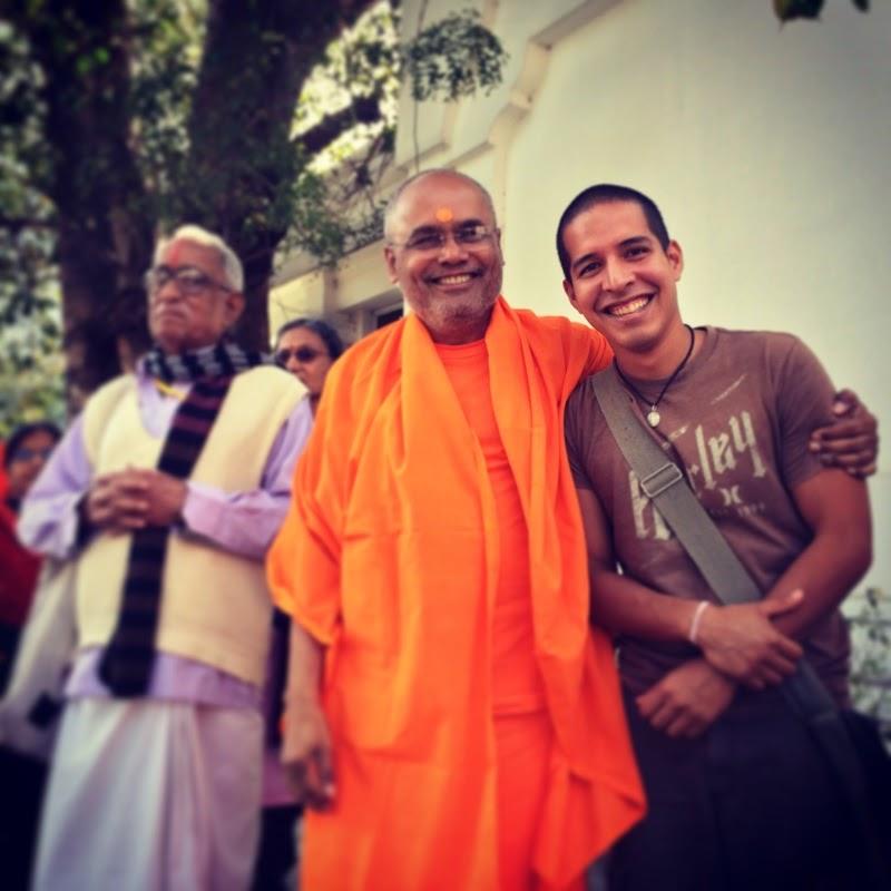 Studying Vedanta at Swami Dayananda Ashram