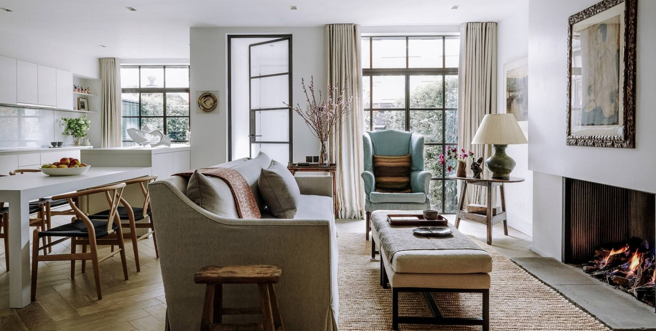 A calm, light-filled London house designed by Kerry Franses