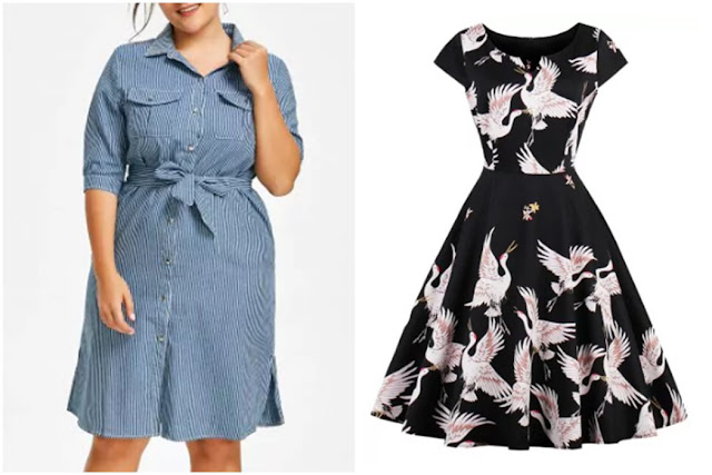 Wishlist Loja Rosegal: Vestidos Plus Size