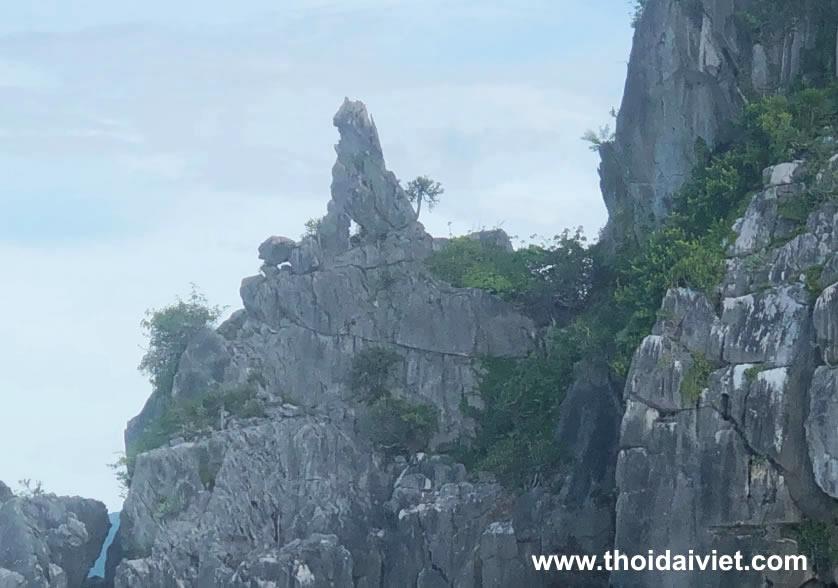 đảo Bà Lụa hòn kỳ lân
