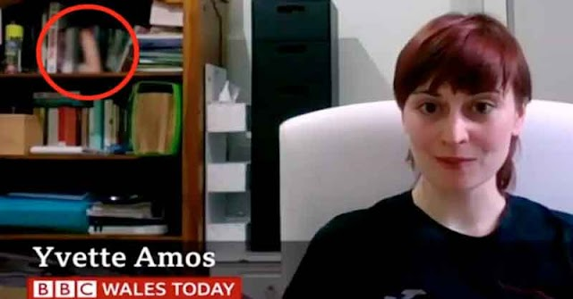 Sin querer mostró su mejor juguete durante una entrevista para BBC
