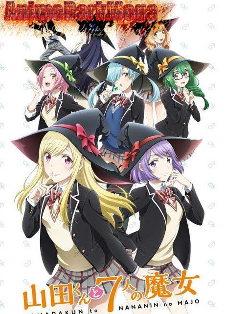 [AnimeDarkMega]  Descargar Yamada-kun to 7nin no Majo [12/12]+Ovas por Mega