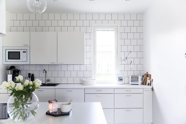 Villa H, keittiön sisustus, sisustusinspiraatio, klassinen koti,