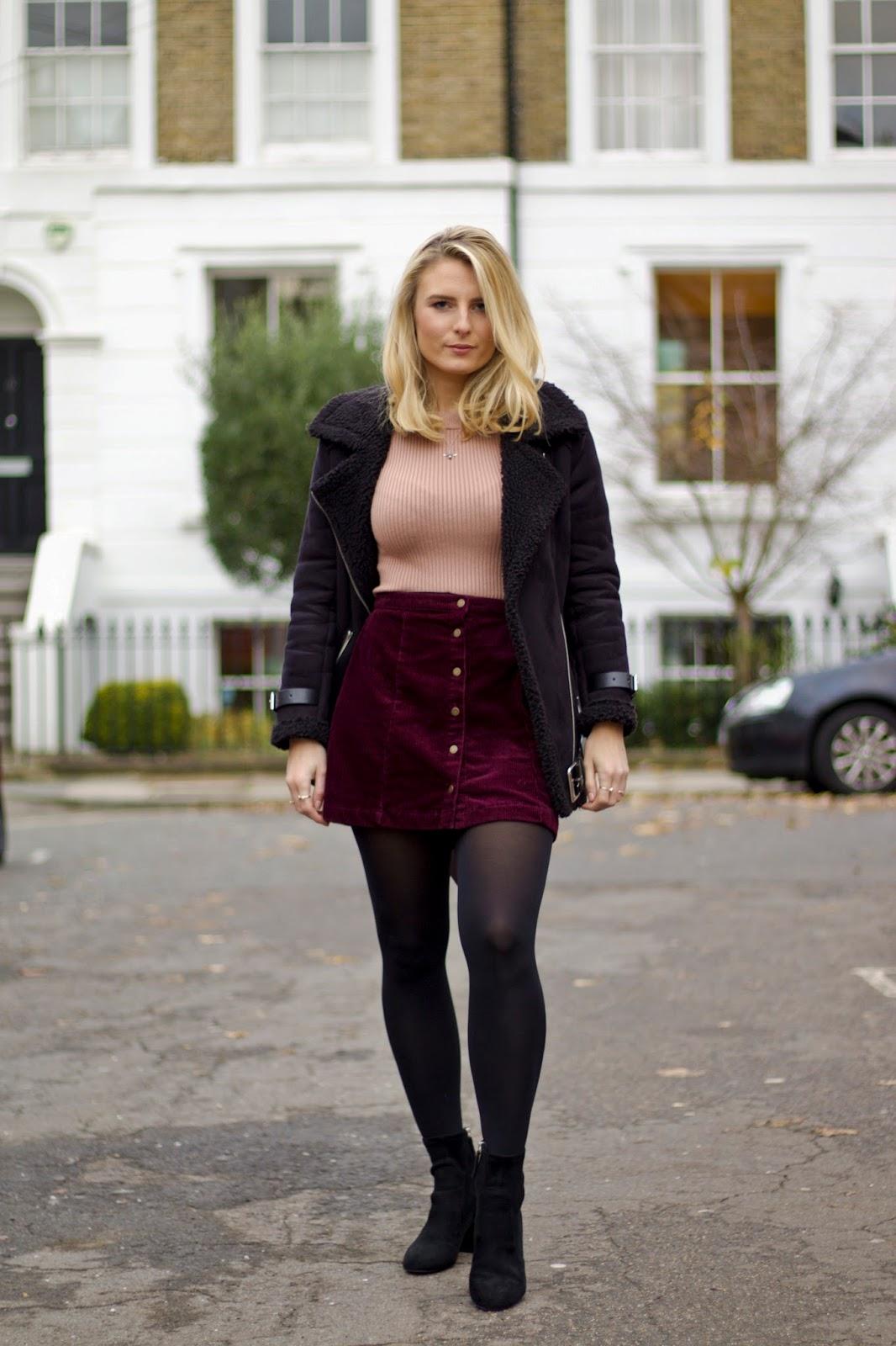 H&M Top New Look Jacket Zara Heels