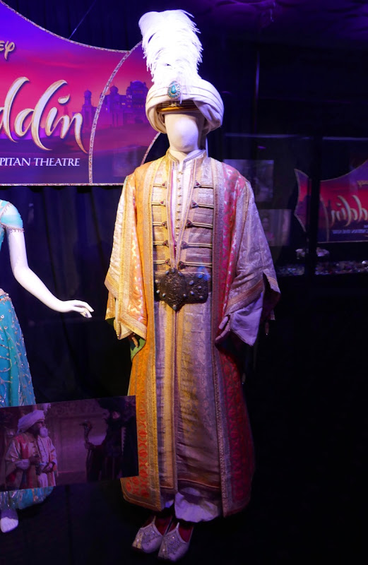 Navid Negahban Aladdin Sultan movie costume