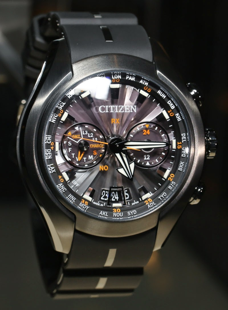 76eb0191ce3 Swiss Design Watches  Citizen Eco-Drive Satellite Wave-Air GPS Watch Review