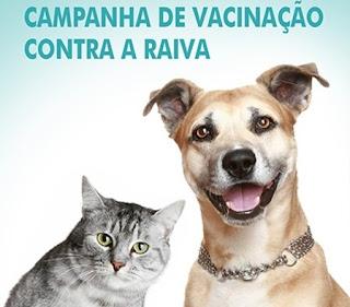 Em Baraúna, Campanha Nacional de vacinação contra raiva animal iniciou nesta quinta, 24
