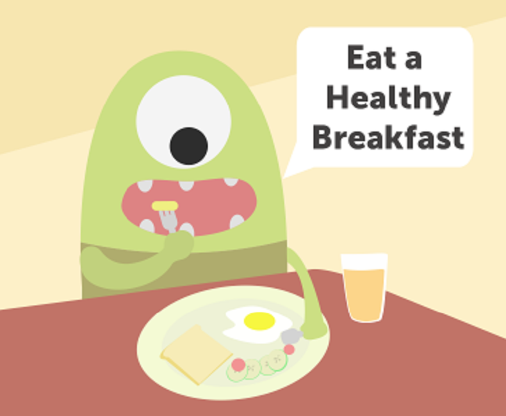 Why the brain needs healthy breakfast early in the morning