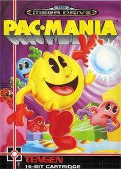 Rom de Pac Mania - Mega Drive - PT-BR