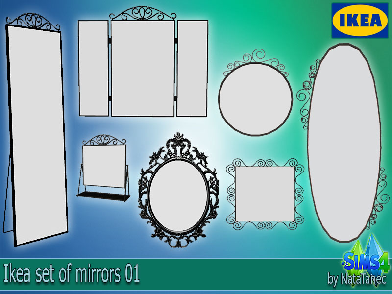 My Sims 4 Blog Ikea Mirrors By Natatanec