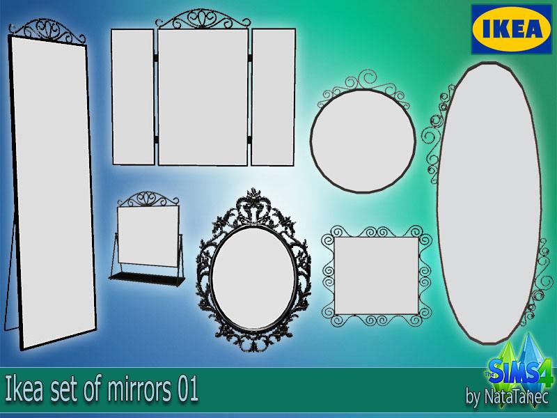 my sims 4 blog  ikea mirrors by natatanec