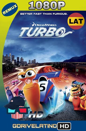 Turbo (2013) BDRemux 1080p Latino-Ingles MKV