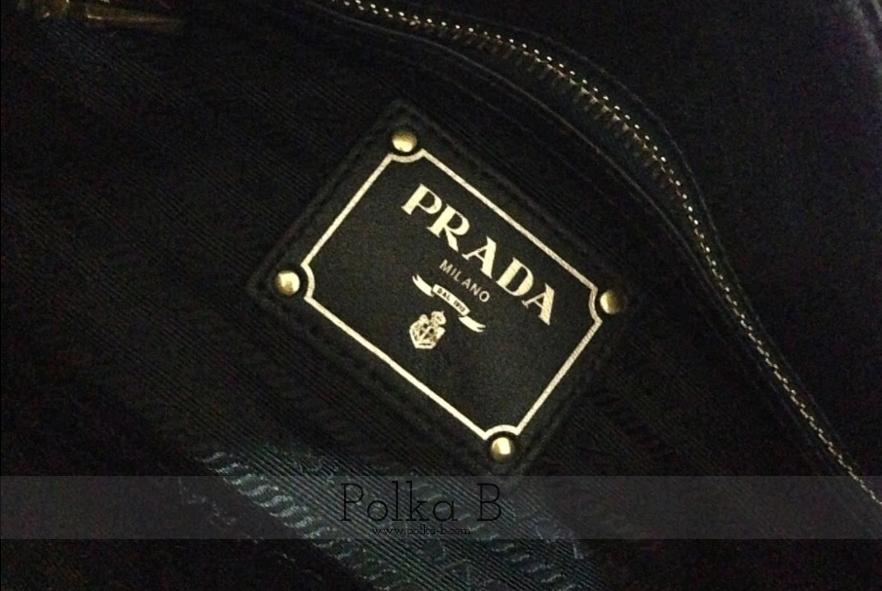 56f7537d7ed9 Prada Tessuto Nylon + Soft Calf Leather Top Handle Bag BN1903 ...