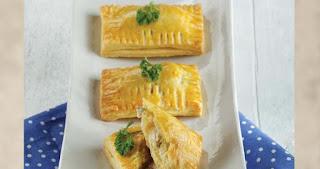 Resep dan Cara membuat Savory Chicken Pocket