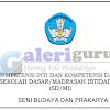 KI Dan KD Kelas 3 Kurikulum 2013 Tahun 2018 Mapel SBK (Seni Budaya dan Prakarya) - Galeri Guru