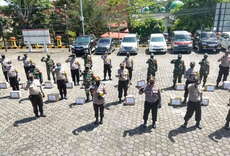 """Kapolres Tanjungpinang Launching Program """"Sembako Door to Door"""""""