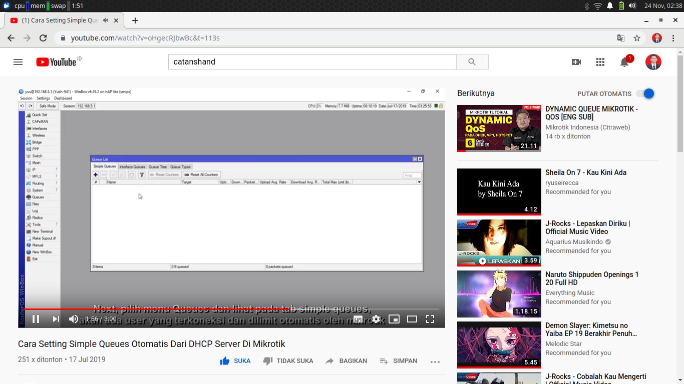 Cara Blokir Video Youtube Di Mikrotik Menggunakan Layer 7 ...