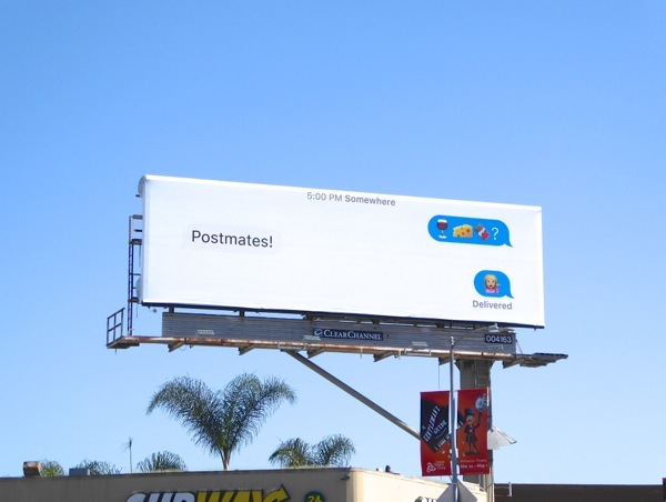 Daily Billboard: DoorDash and other food delivery billboards
