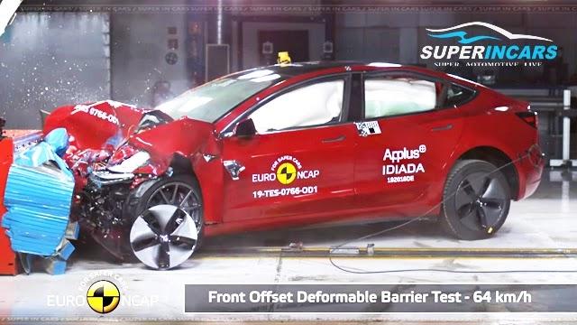 Tesla Model 3 Euro NCAP Crash Test Results
