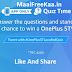 The OnePlus 5T App Quiz Win OnePlus 5T (Answer Added)