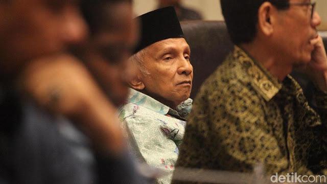 Lantaran Hal ini Amien Rais Ngatain Bangsa Indonesia Pekok Lagi