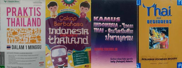 buku, kamus, belajar, bahasa thailand, thai, indonesia