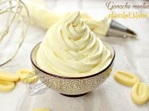 Ganache montée chocolat blanc et vanille