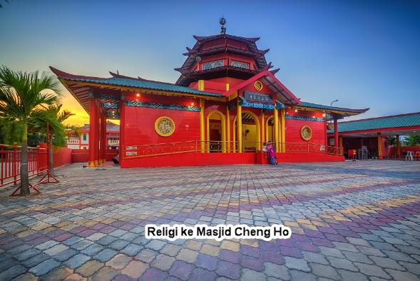 Wisata Religi ke Masjid Cheng Ho Saat Main ke Surabaya
