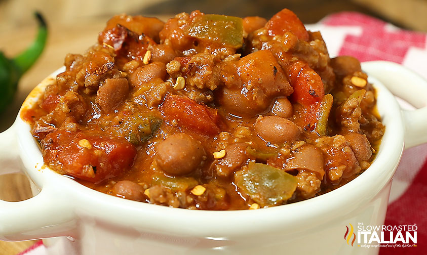 http://theslowroasteditalian-printablerecipe.blogspot.com/2015/01/5-ingredient-lazy-day-chili.html