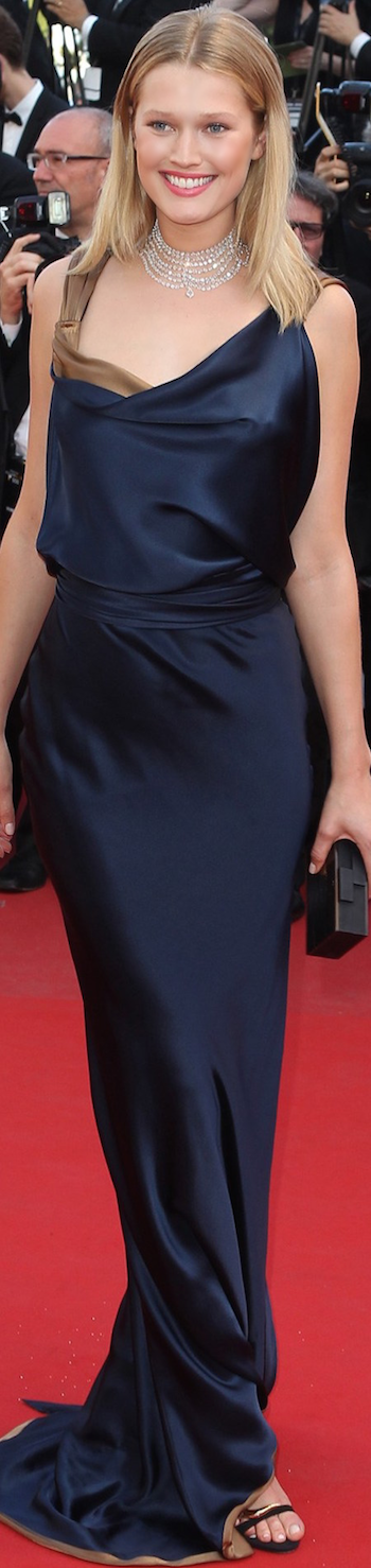 Toni Garrn 2015 Cannes Film Festival