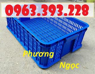 Sọt nhựa đựng trái cây, sóng nhựa HS019, sọt nhựa công nghiệp