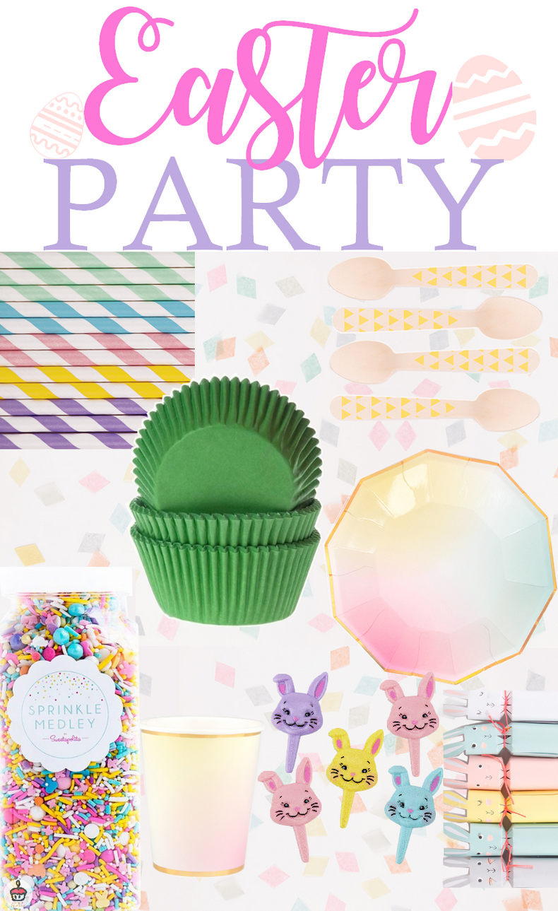 Moodboard Easter party