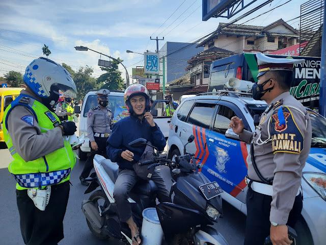 Sepeda Motor Menggunakan Knalpot Bising Dominasi Pelanggaran Ops Lodaya