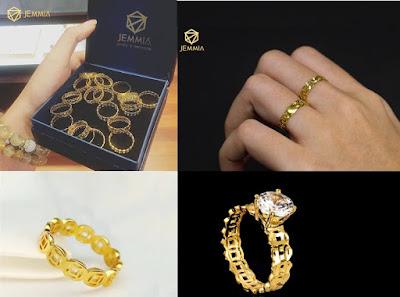 Hình 4 - Ngày Vía Thần Tài mua nhẫn kim tiền bằng vàng vừa đẹp lại giúp cầu may, tài lộc