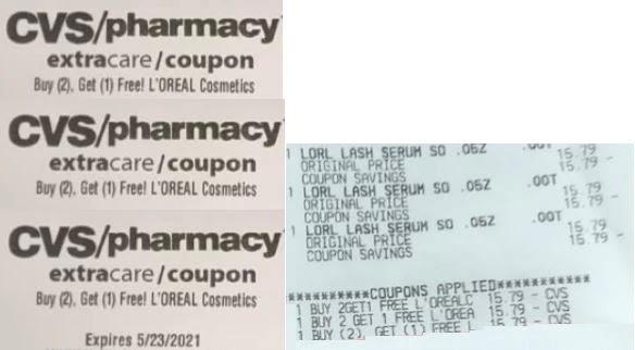 L'Oreal cvs store coupons