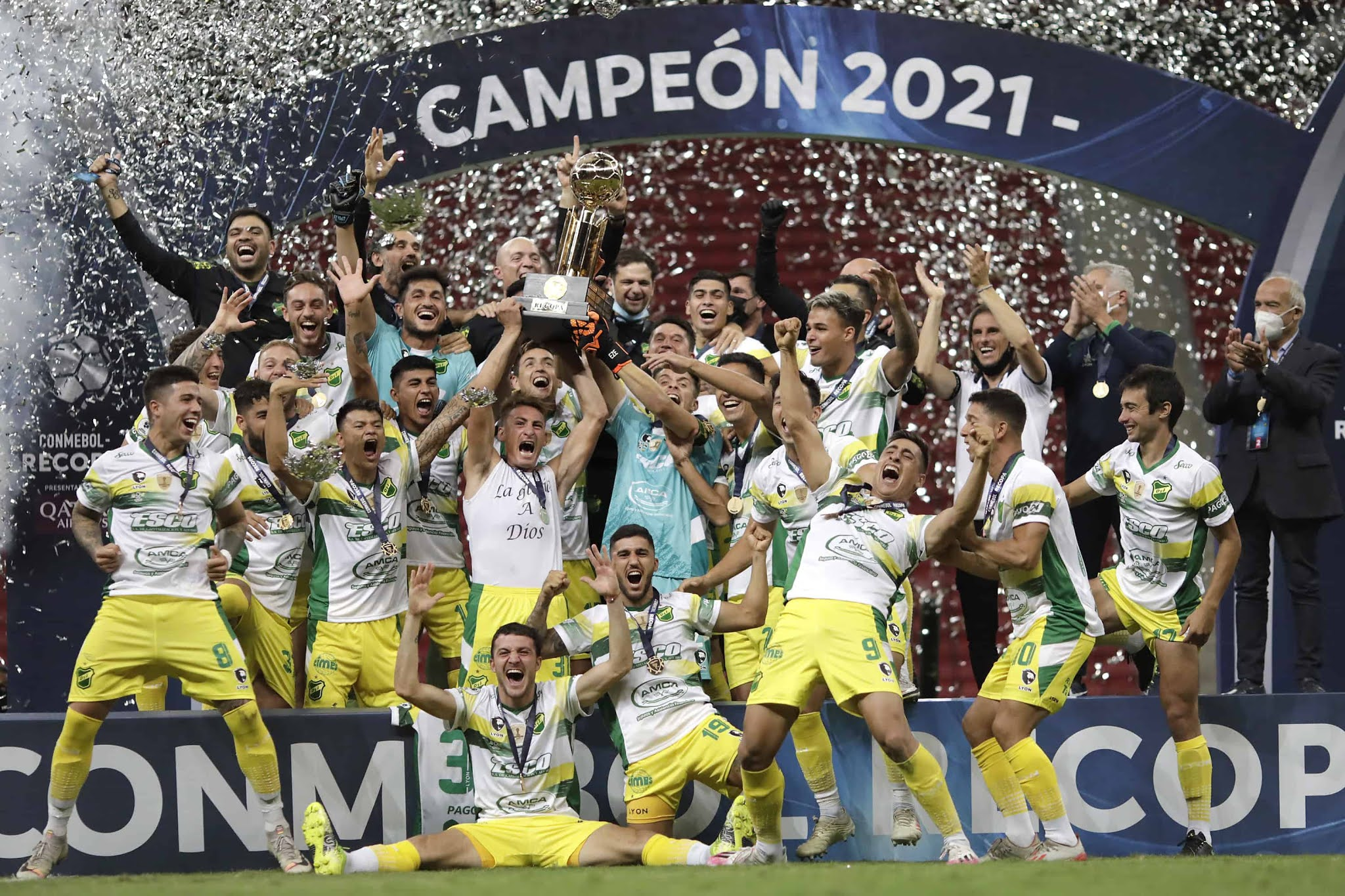Histórico: Defensa y Justicia venció por penales al Palmeiras en Brasil y logró la Recopa Sudamericana