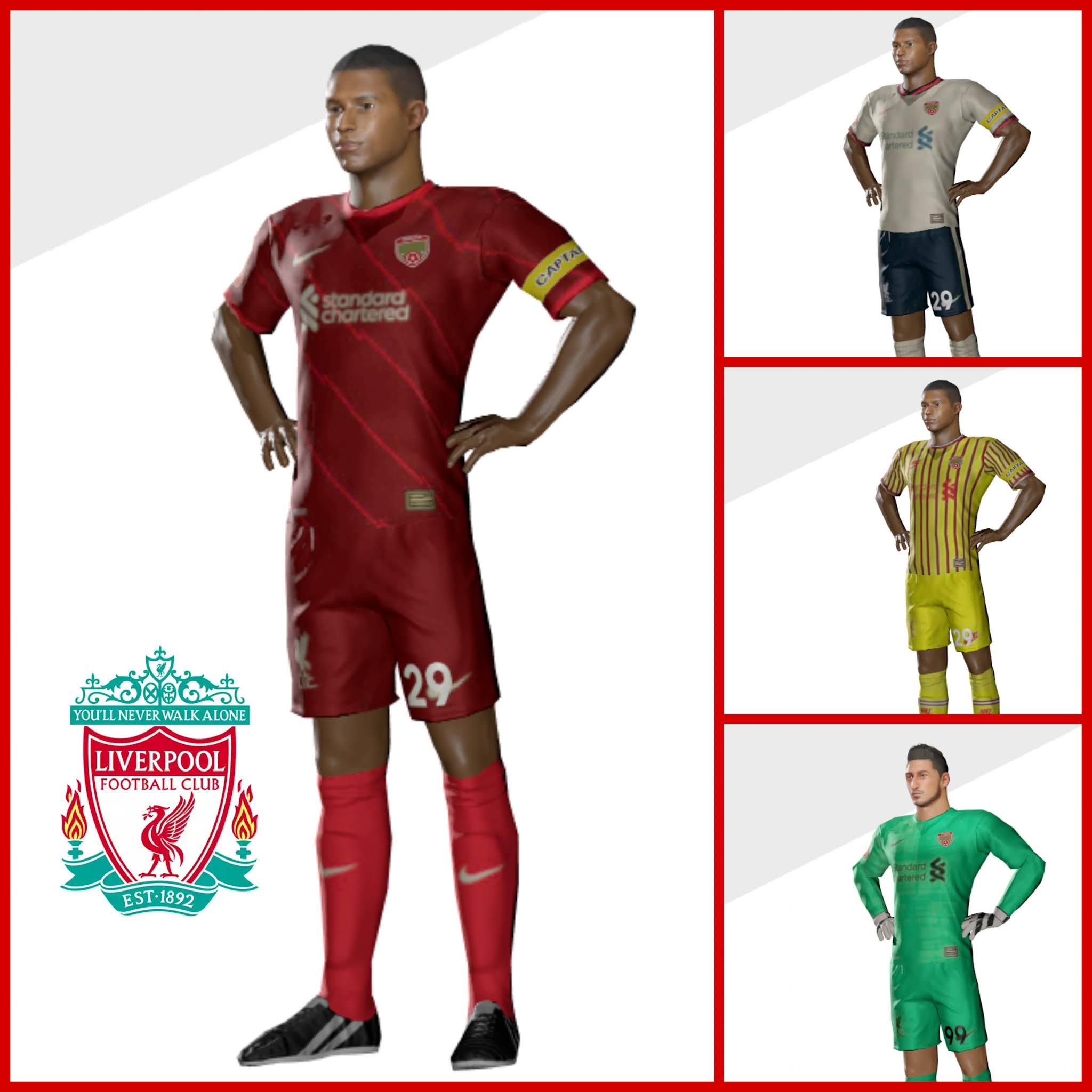 Kit Liverpool dream league soccer