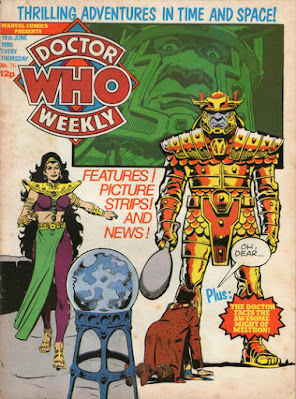 Doctor Who Weekly #36, the Time Witch