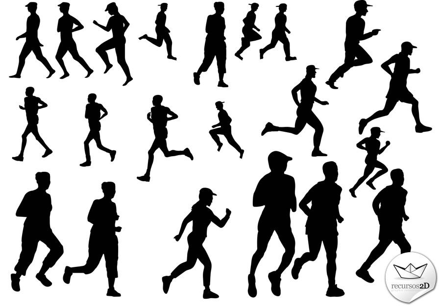 Userscode: Personas corriendo en vector