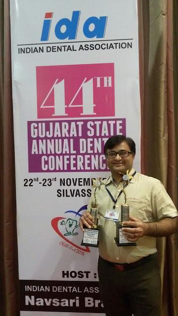 Dr. Bharat Katarmal at 44th Gujarat State Annual Dental Conference